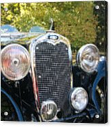 1935 Triumph Southern Cross Front Grill Acrylic Print