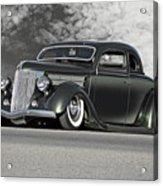 1936 Ford 'bug Crusher' Coupe Acrylic Print