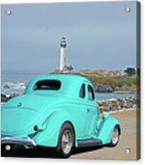 1936 Ford Coupe 'shoreline' 1 Acrylic Print