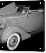 1936 Ford Rumble Seat Cabriolet  Acrylic Print