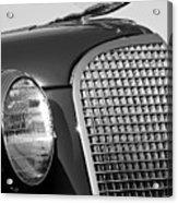 1937 Cadillac V8 Hood Ornament 3 Acrylic Print by Jill Reger