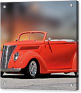 1937 Ford Cabriolet 'old School Vibe II Acrylic Print
