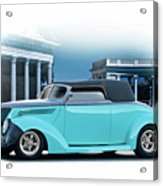 1937 Ford 'classic' Cabriolet Acrylic Print