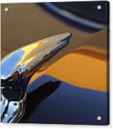 1937 Ford Hood Ornament 3 Acrylic Print