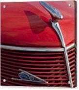 1937 Ford Hood Ornament Acrylic Print