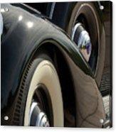 1937 Lincoln K Brunn Abstract Acrylic Print