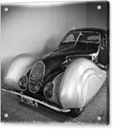 1937 Talbot-lago T150c Acrylic Print