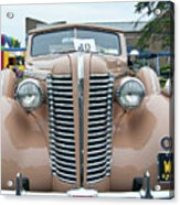 1938 Buick 2087 Acrylic Print