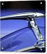 1938 Ford Coupe Hood Ornament Acrylic Print