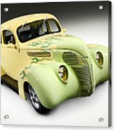 1938 Hot Rod Ford Coupe Acrylic Print