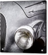 1938 Talbot-lago 150c Ss Figoni And Falaschi Cabriolet Headlight - Emblem -1554ac Acrylic Print
