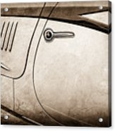 1938 Talbot-lago 150c Ss Figoni And Falaschi Cabriolet Side Door Handle -1511s Acrylic Print