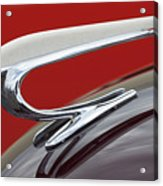 1938 Willys Aftermarket Hood Ornament Acrylic Print