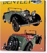1939 Bentley Drop Head Coupe Acrylic Print