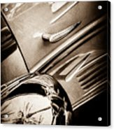 1939 Bugatti T57c Galibier -0298s Acrylic Print