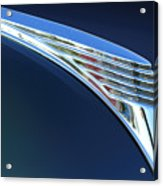 1939 Ford Deluxe Hood Ornament Acrylic Print