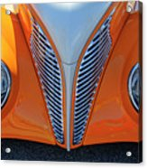 1939 Ford Hot Rod Cvt Grille Acrylic Print
