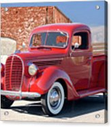 1939 Ford 'stake Bed' Pickup Truck I Acrylic Print