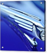 1939 Pontiac Coupe Hood Ornament 4 Acrylic Print by Jill Reger