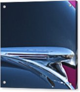 1940 Chevrolet Pickup Hood Ornament Acrylic Print