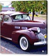 1940 Classic Cadillac  Acrylic Print