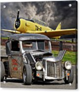 1940 Ford Rat Rod Pickup IIi Acrylic Print