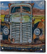 1940 International Harvester Truck Acrylic Print