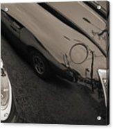 1940 Mercury Convertible Vintage Classic Car Photograph 5218.01 Acrylic Print