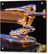1940 Packard Hood Ornament Acrylic Print