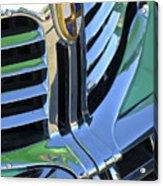 1940's Lincoln Hood Emblem Acrylic Print