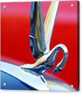 1940's Packard Cormorant Hood Ornament Acrylic Print