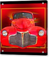 1941 Chevy Custom Acrylic Print