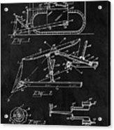 1941 Construction Bulldozer Acrylic Print