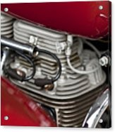 1941 Indian 4 Cyl Motorcycle Acrylic Print