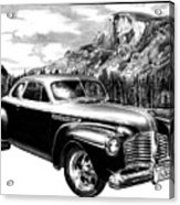 1941 Roadmaster - Half Dome Acrylic Print