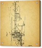 1943 Helicopter Patent Acrylic Print