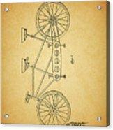 1945 Schwinn Tandem Bicycle Acrylic Print