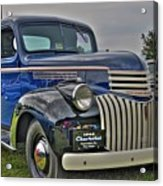 1946 Chevy Acrylic Print