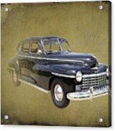 1946 Dodge D24c Sedan Acrylic Print