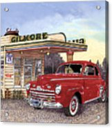 1946 Ford Deluxe Coupe Acrylic Print