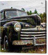 1946 Ford Model A Acrylic Print
