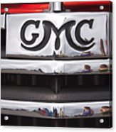 1946 Gmc Truck Grill 2 Acrylic Print