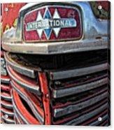 1946 International Harvester Truck Grill Acrylic Print