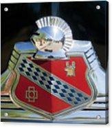 1947 Buick Emblem 2 Acrylic Print