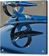 1947 Buick Roadmaster Hood Ornament Acrylic Print