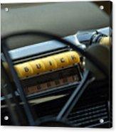 1947 Buick Super Radio Acrylic Print