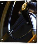 1947 Cadillac Model 62 Coupe Steering Wheel Acrylic Print