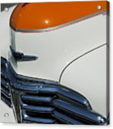 1947 Chevrolet Deluxe Front End Acrylic Print