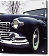 1947 Classic Lincoln Ragtop On Moody Day Acrylic Print