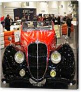 1947 Delahaye 135m Letourner Et Marchand Cabriolet Acrylic Print